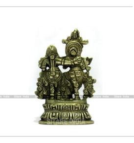 Radha Krishna Panchdhatu Idol