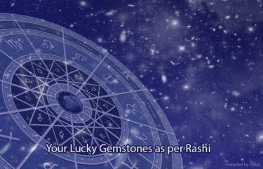 Lucky Jyotish Gemstones as per Rashi