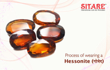 Process of Wearing a Hessonite