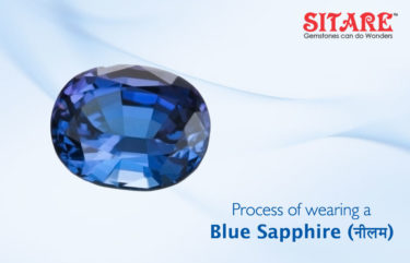 Process of Wearing Blue Sapphire