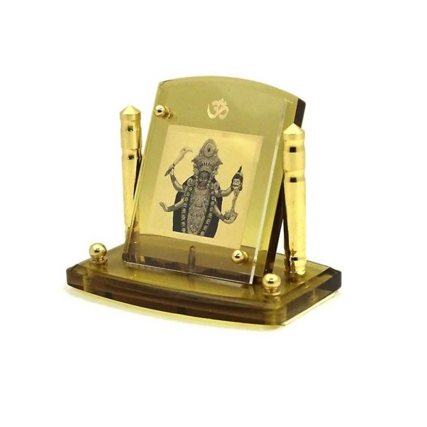 Goddess Kali Diviniti 24ct Gold Foil Car Frame