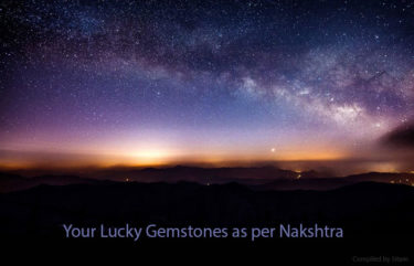 Lucky Jyotish Gemstones as per Nakshtra