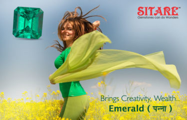 Brings Creativity Wealth Emerald