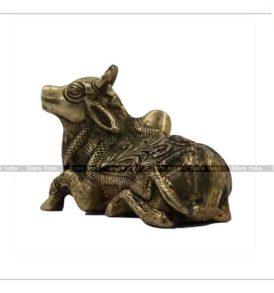 Lord Nandi Statue Panchdhatu Idol