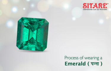 Process of Wearing Emerald